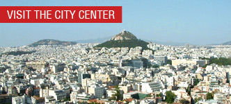Visit the city center of Athens