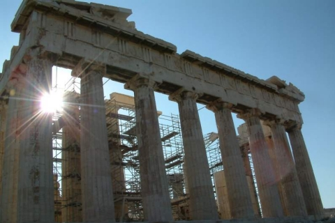 Acropolis from East side