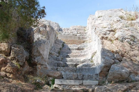 Steps to Areopagus hill
