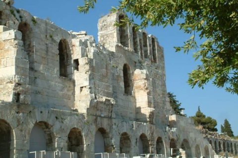 Front view of Odeion of Herodes Atticus