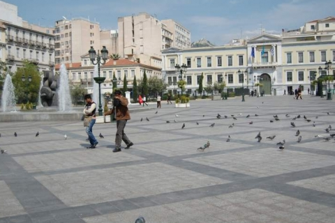The beautiful Kotzia Square
