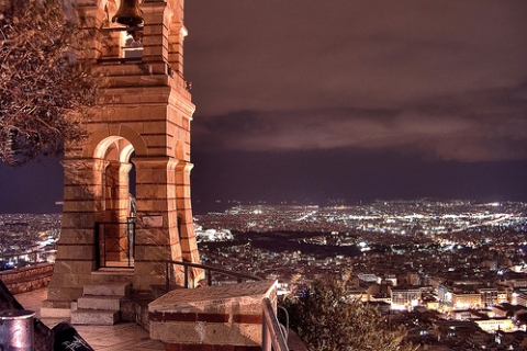 Lycabettus Hill by night