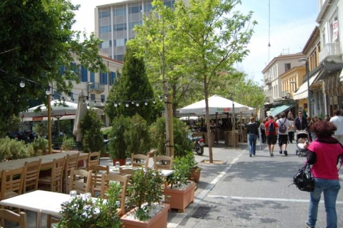 Restaurants at Monastiraki