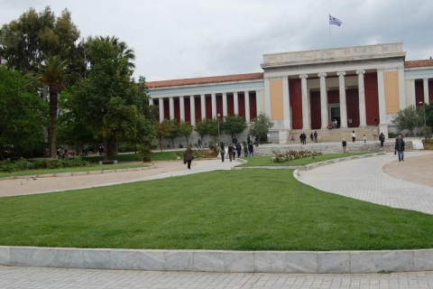 The National Archaeological Museum at Patision Avenue