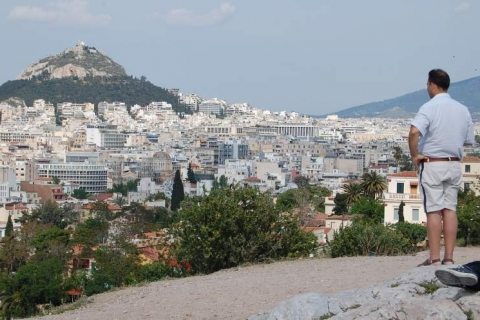 Spectacular view from Areopagus
