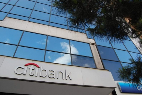 The Citibank building at Syngrou Avenue