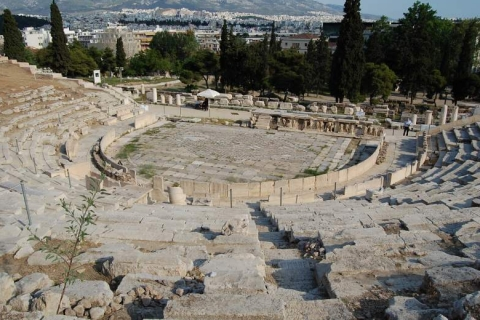 Upper view to the Theater of Dionysos