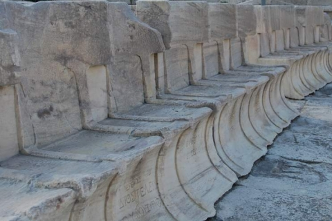 Seats of the Theater of Dionysos